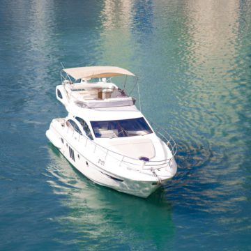 top - 48ft azimut - yachts for rent in dubai