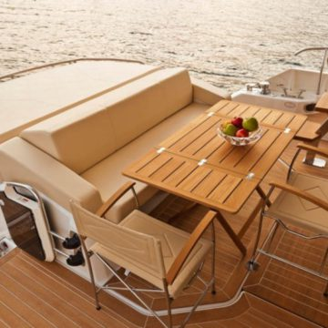 back deck - 54ft cranchi