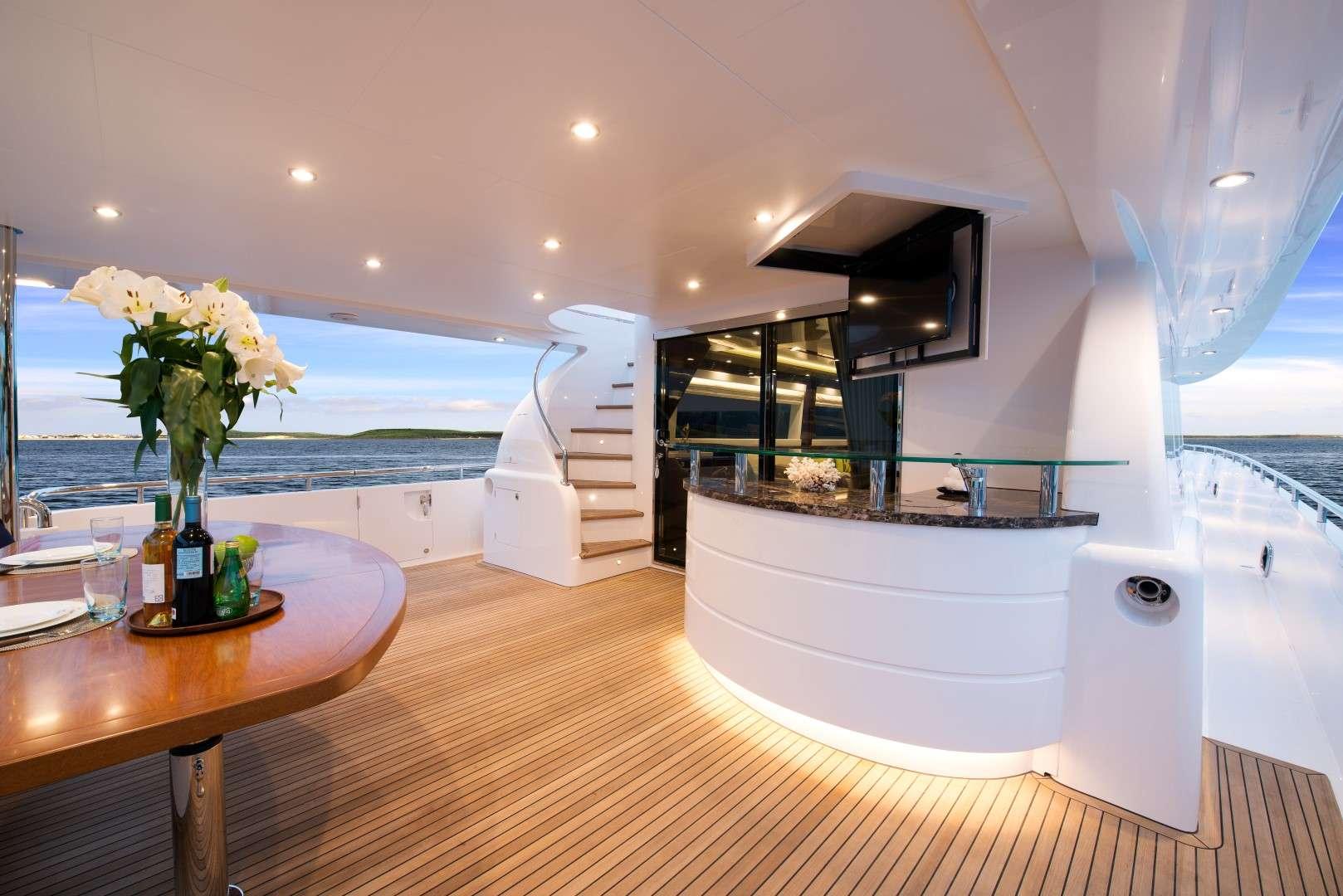onboard - Aqua Motor Yacht - yacht for rent in dubai