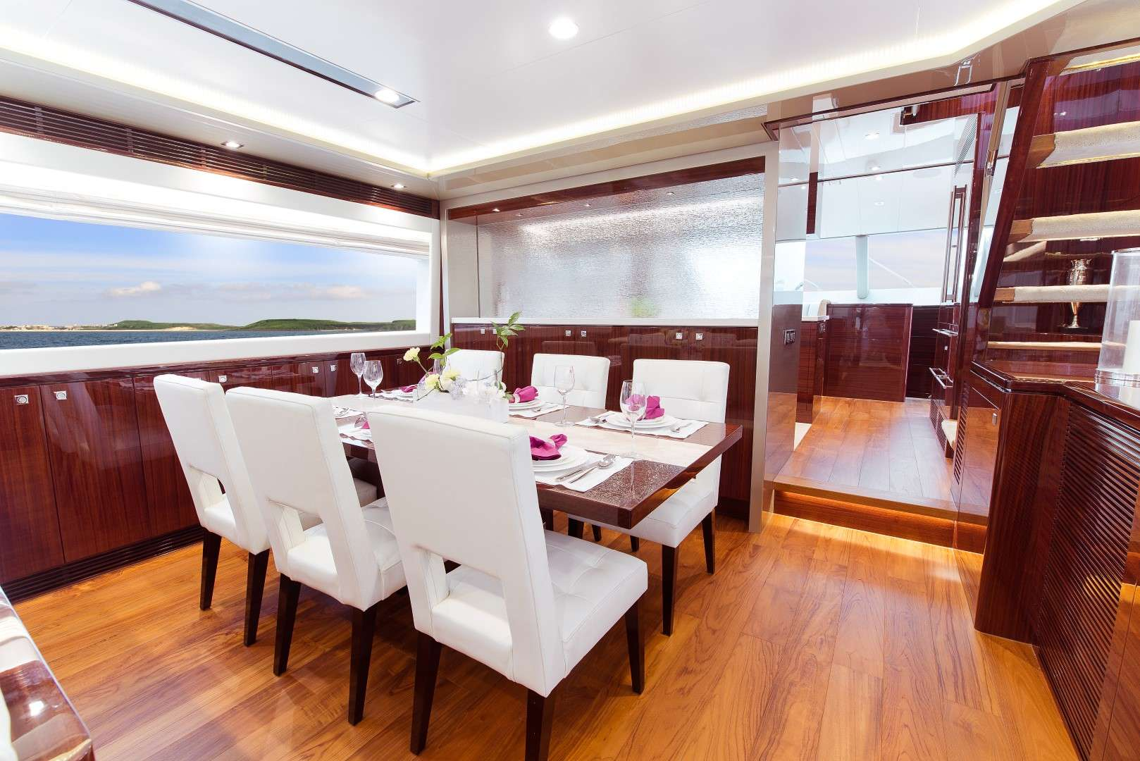 onboard - Aqua Motor Yacht - yacht for rent in dubai