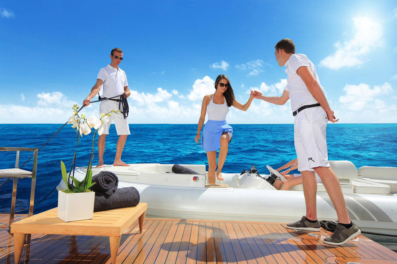 Five Star Hospitality on board Yachts Rental Dubai