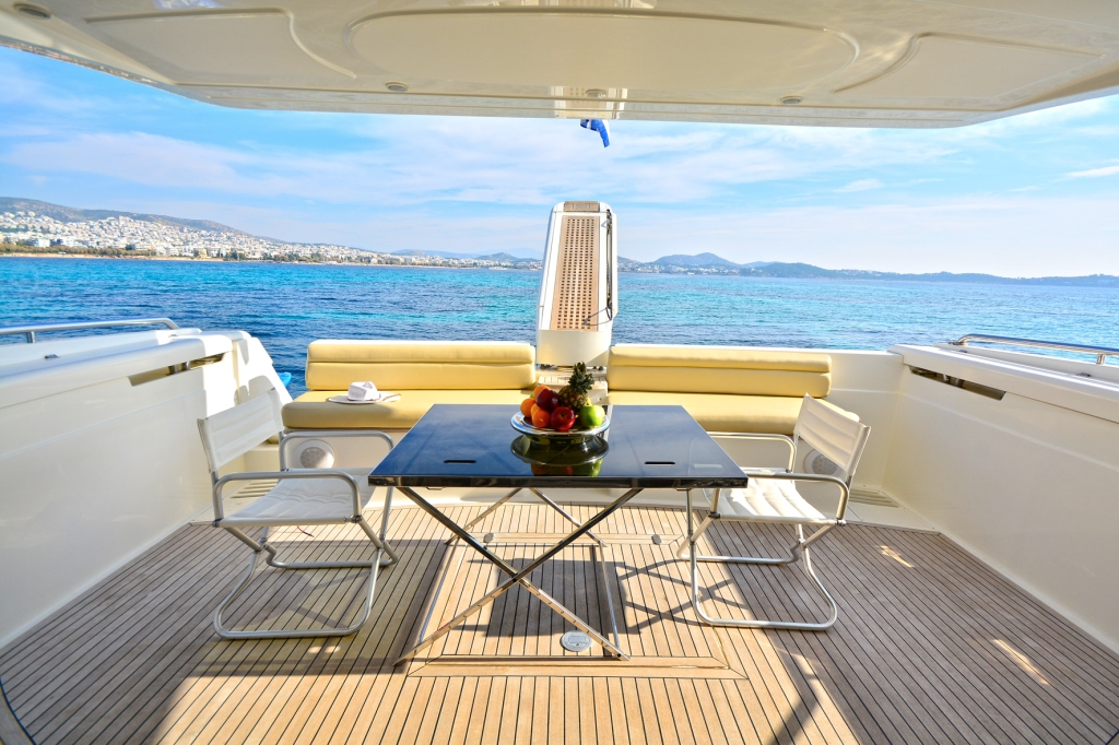flybridge - lady a yacht - yachts rental dubai
