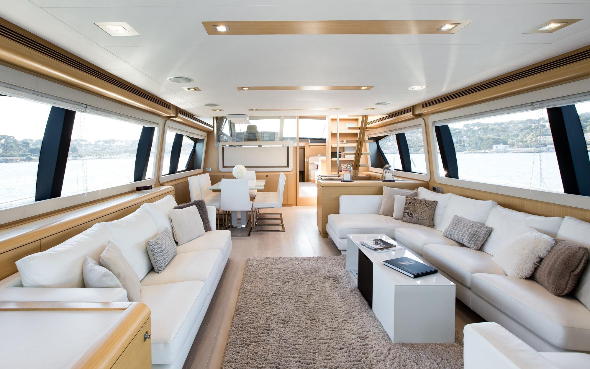 sitting - Queen-Stacey- yacht rentals dubai