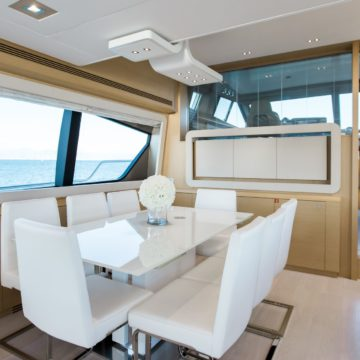saloon - Queen-Stacey- yacht rentals dubai