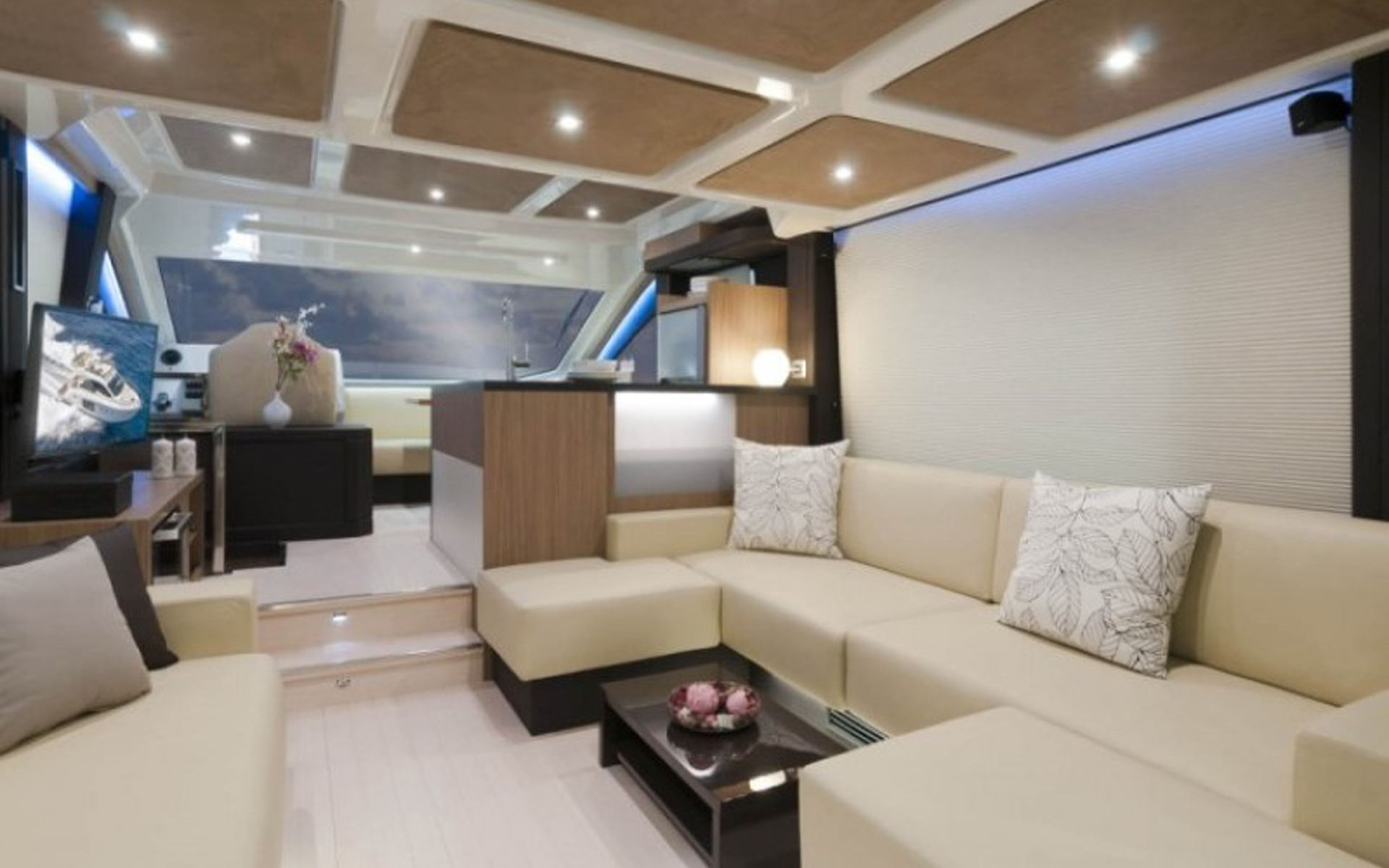saloon area - yacht