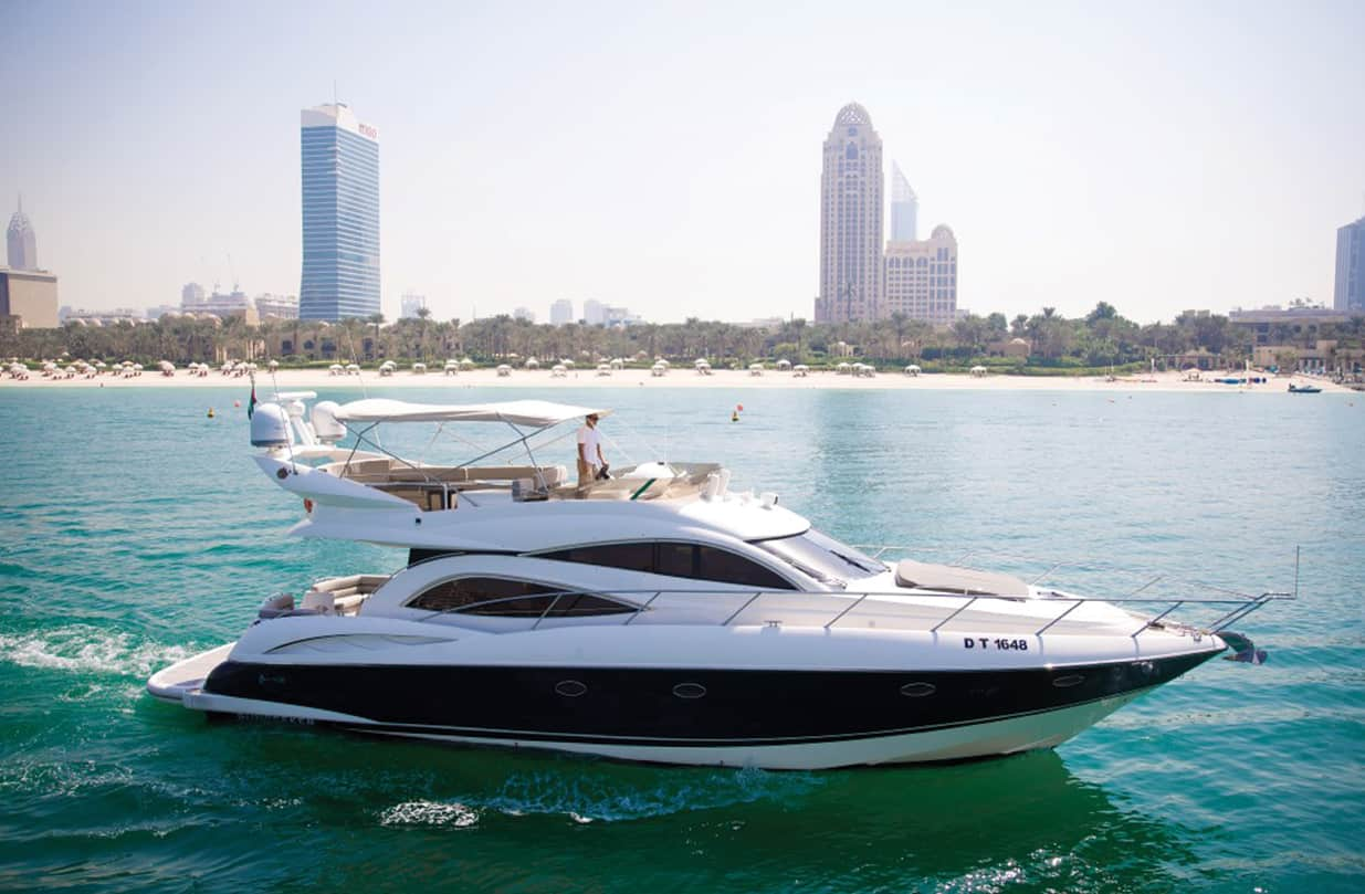 55-FT-Sunseeker-Yacht - yacht for rent in dubai