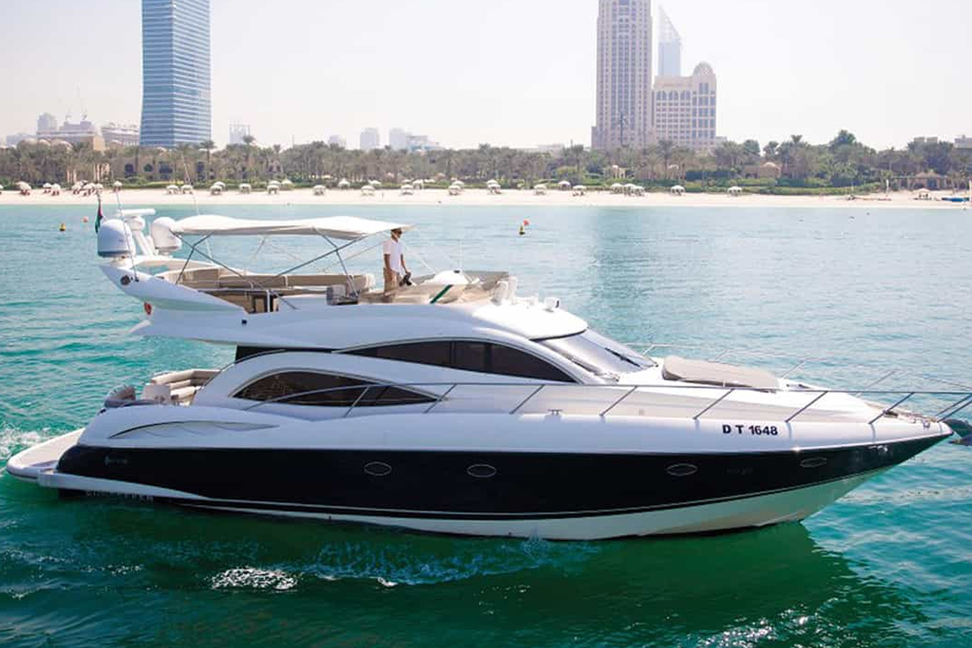 55ft yacht - yacht rentals dubai