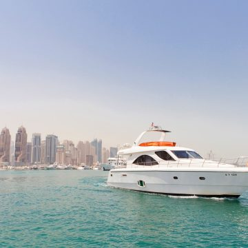 side view - 70ft - dyretti yacht - yacht for rent in dubai